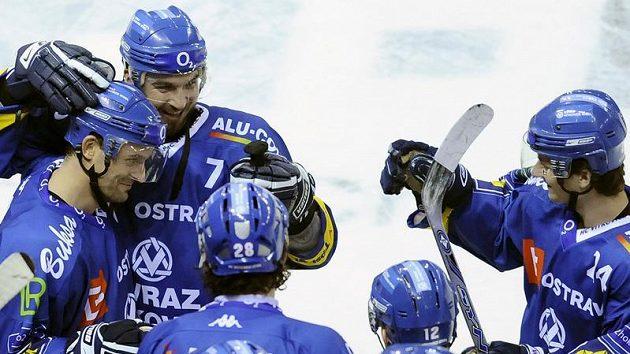 Radost hokejistů Vítkovic