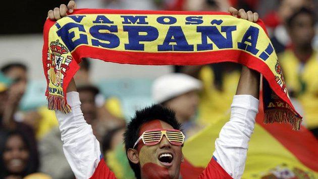 Fanoušek španělských fotbalistů
