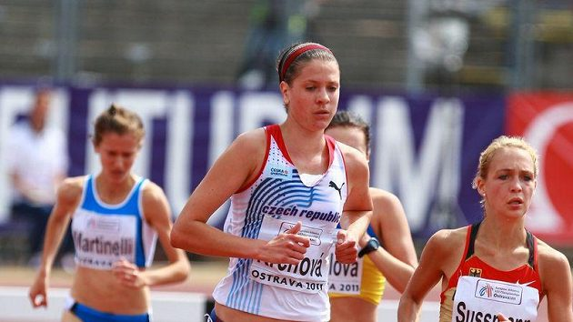 Česká běžkyně Eva Krchová