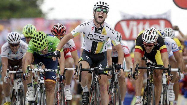 Rozhodne o triumfu v 11. etapě Tour opět hromadný finiš? Elitní spurtér Mark Cavendish by jistě nebyl proti.
