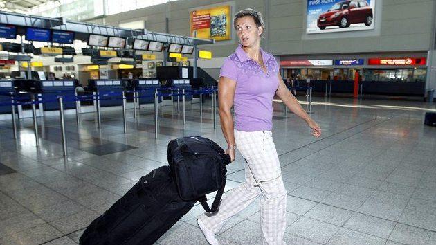 Barbora Špotáková nabrala směr mistrovství světa, které se kona v Tegu.