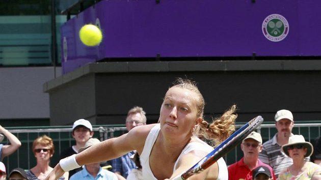 Petra Kvitová ve Wimbledonu