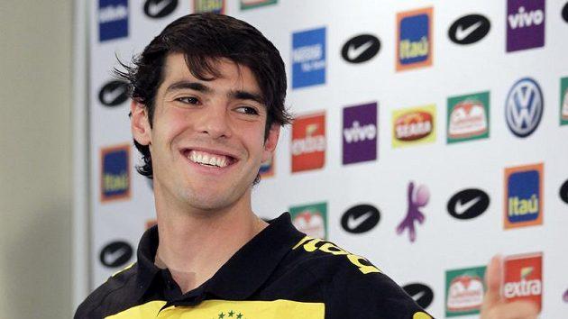 Brazilský fotbalista Kaká