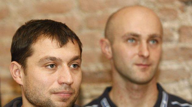 Deblkanoisté Jaroslav Volf (vpravo) s Ondřejem Štěpánkem