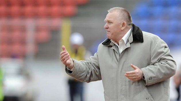 Trenér fotbalistů Kladna Stanislav Procházka
