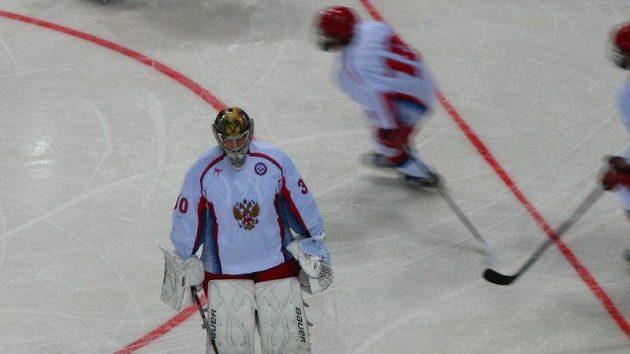 Hokejisté Ruska na olympijském festivalu mládeže v Liberci