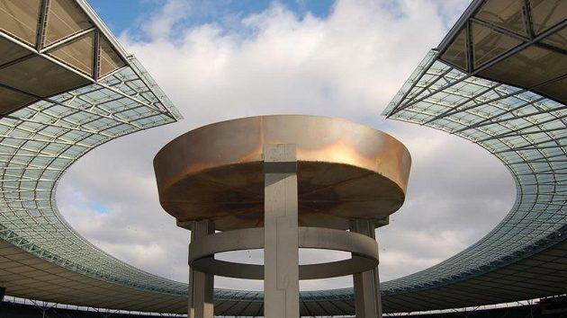 Berlínský stadión, na kterém se uskuteční dvanácté mistrovství světa v atletice