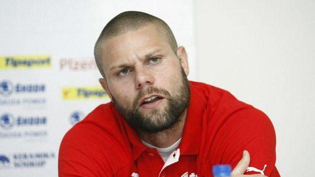 Fotbalista Plzně David Bystroň