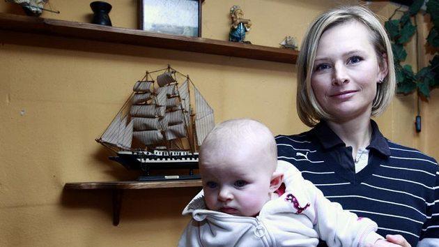 Jachtařka Lenka Šmídová je podruhé těhotná.
