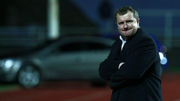 I plzeňský trenér Pavel Vrba má nervy napjaté k prasknutí.