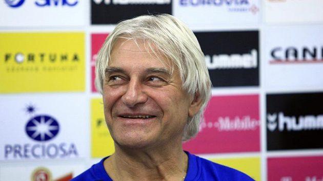 Trenér fotbalistů Slovanu Liberec Ladislav Škorpil může být spokojený.