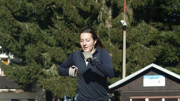 Denisa Rosolová zahájila na Zadově přípravu na novou sezónu.