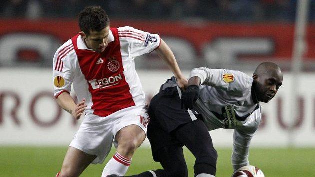 Zápas předních evropských klubů Ajaxu a Juventusu přinesl atraktivní fotbal