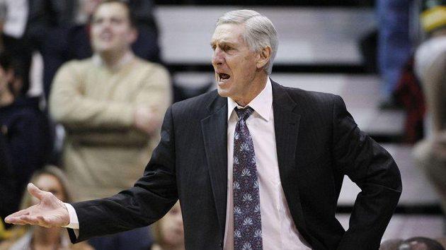 Basketbalový trenér Jerry Sloan
