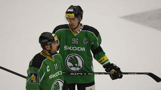 Jaroslav Balaštík (vpravo) a David Výborný