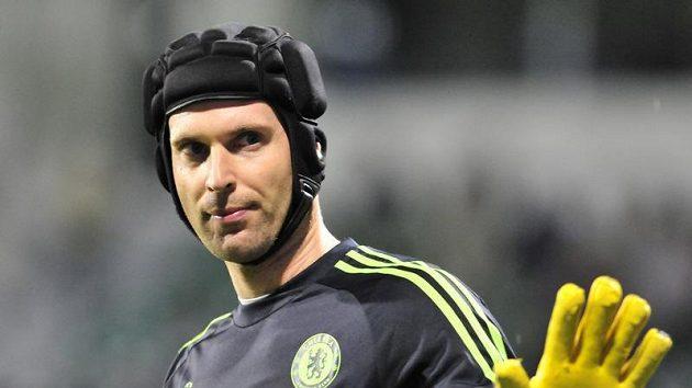 Brankář Petr Čech odchytal mezi tyčemi Chelsea už tří stý zápas.