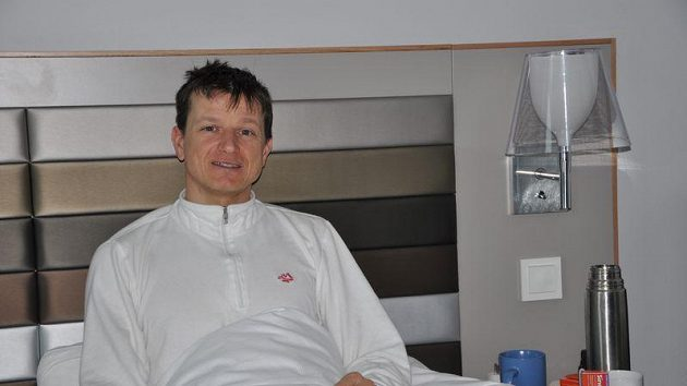 Pavel Churavý po úvodním závodu na MS v Norsku ulehl do postele.