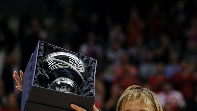 Basketbalistka Hana Horáková s oceněním pro nejužitečnější hráčku mistrovství světa