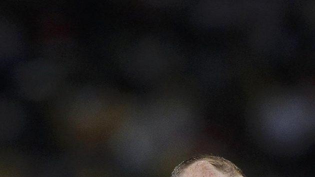 Útočník anglické fotbalové reprezentace Wayne Rooney