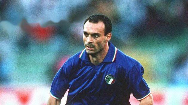 Salvatore Schillaci, nejlepší střelec fotbalového mistrovství světa 1990.