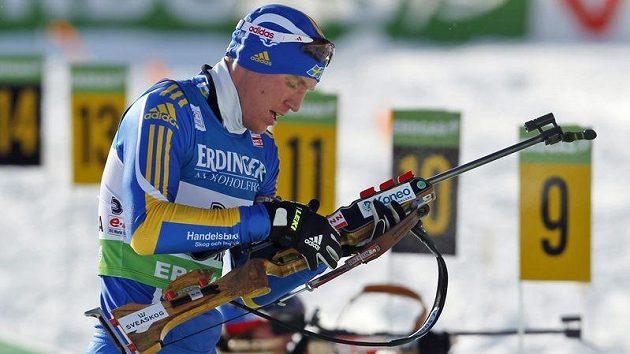 Švédský biatlonista Björn Ferry