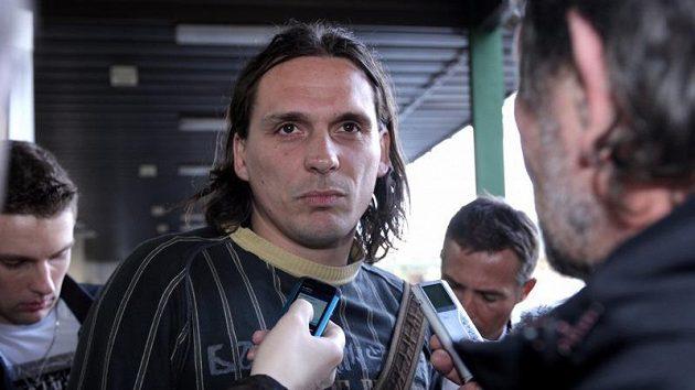 Hráč Bohemians Praha Marek Kincl po slyšení před disciplinární komisí, která se snažila vyřešit údajnou korupci ze strany Sigmy Olomouc.