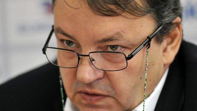 Prezident Českého svazu ledního hokeje Tomáš Král.