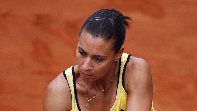 Italská fedcupová reprezentantka Flavia Pennettaová