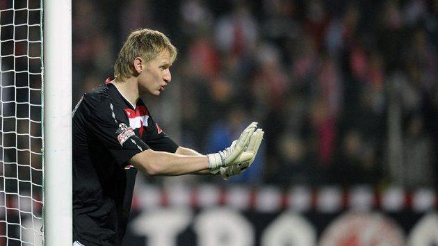 Brankář Zdeněk Zlámal