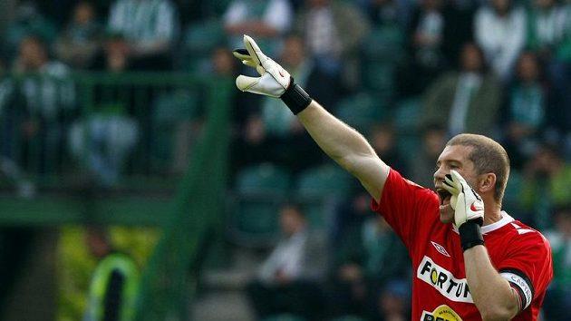 Brankář a kapitán fotbalistů Bohemians 1905 Radek Sňozík má jasno: Třicet ligových zápasů vudeme hrát venku!