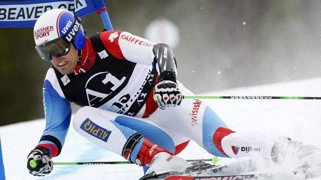 Švýcarský lyžař Daniel Albrecht