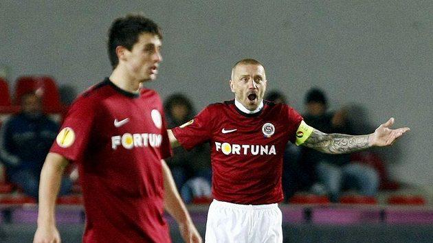 Kapitán Tomáš Řepka nemohl uvěřit, jak jeho Sparta o výhru přišla...