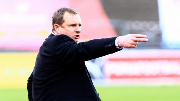 Trenér fotbalistů Plzně Pavel Vrba
