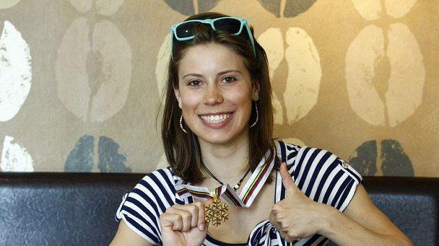 Snowboardkrosařka Eva Samková