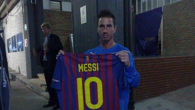 Plzeňský Milan Petržela byl v honu za dresem Lionela Messiho v Barceloně úspěšný.