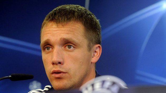 Trenér BATE Borisov Viktor Gončarenko