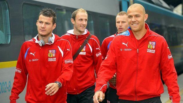 Fotbaloví reprezentanti se připravují na zápas s Litvou
