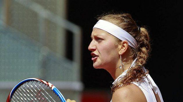 Petře Kvitové se vstup do turnaje v Praze povedl.