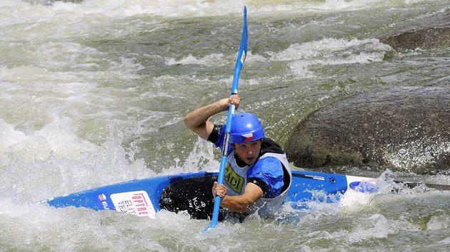 Jiří Prskavec na mistrovství Evropy ve Španělsku.