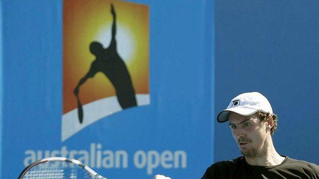 Český tenista Jan Hernych na Australian Open