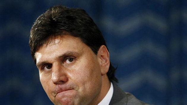 Trenér hokejové reprezentace Vladimír Růžička