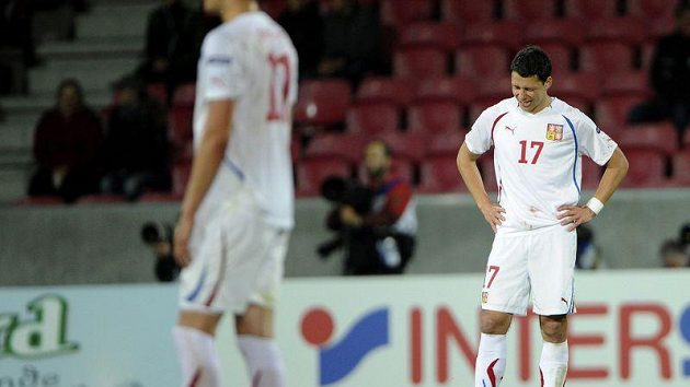 Zklamaný obránce reprezentace do 21 let Marek Suchý