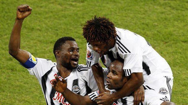 Fotbalisté konžského TP Mazembe