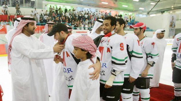 Hokejisté Spojených arabských emirátů