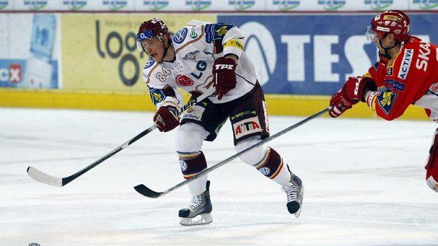 Jakub Langhammer v dresu Sparty. Teď si do konce sezóny zahraje za jejího rivala, Slavii.