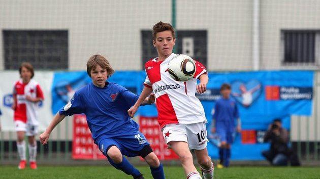 Duel Slavie a Baníku, dvou nejlepších týmů Danone Nations Cupu 2010.