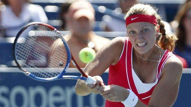 Tenistka Petra Kvitová v prvním kole US Open