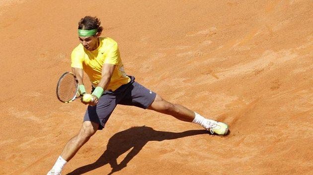 Rafael Nadal na turnaji v Římě