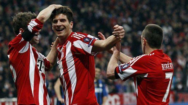Radost fotbalistů Bayernu. Mnichovský celek rozstřílel St. Pauli.