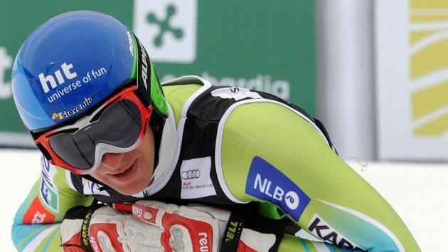 Slovinský lyžař Andrej Jerman